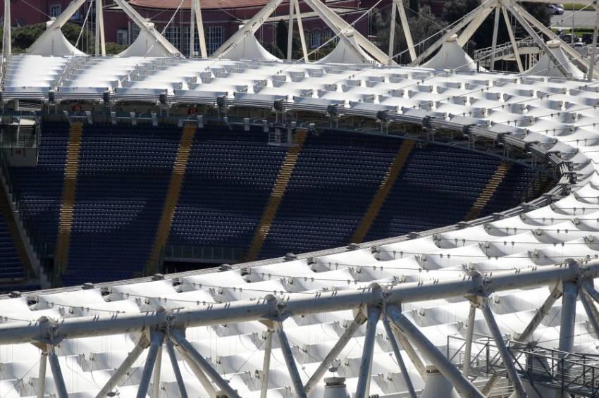 الاستاد الأولمبي في روما. (رويترز)