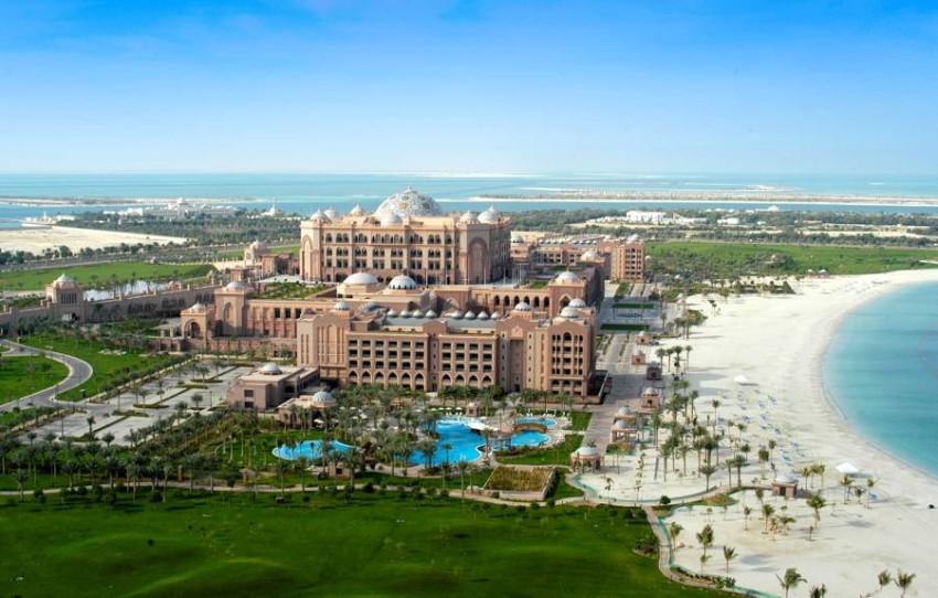 قصر الإمارات ـ أبوظبي. (أرشيفية)