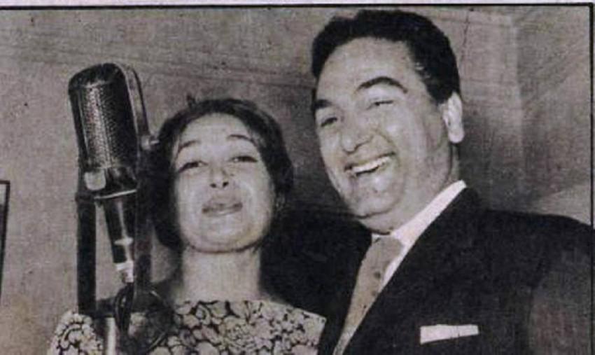هدى سلطان ومحمد فوزي