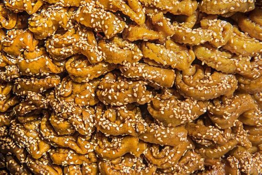 حلوى ''الشباكية'' المغربية