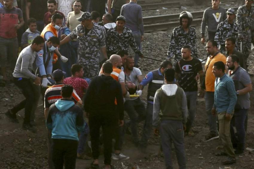 إصابة 109 أشخاص جراء حادث خروج عربات قطار - أب.