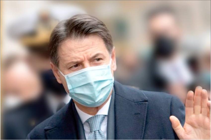 رئيس الوزراء الإيطالي، جوزيبي كونتي، كان من ضحايا الفيروس.(أرشيفية)