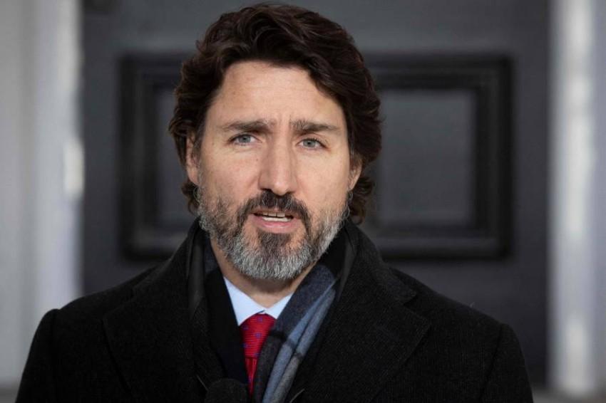 رئيس الوزراء الكندي. (أ ف ب)