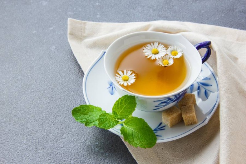شاي الكاموميل أو البابونج