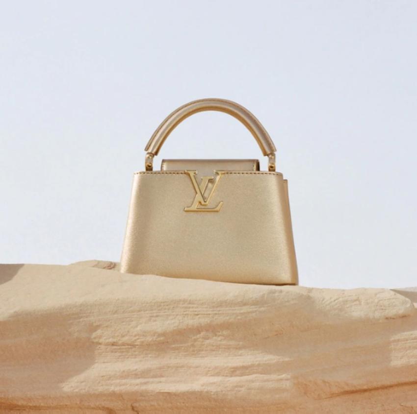 الحقائب الذهبية من لويس فيتتون