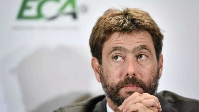 أندريا أنييلي رئيس رابطة الأندية الأوروبية (أي أف بي)