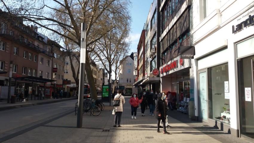 الشارع العربي في مدينة بون