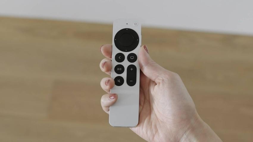 جهاز التحكم عن بعد Siri Remote بتصميم جديد