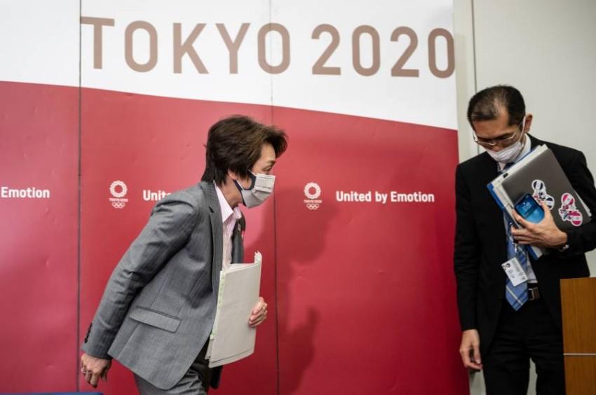 رئيسة اللجنة المنظمة للأولمبياد سايكو هاشيميتو. (رويترز)