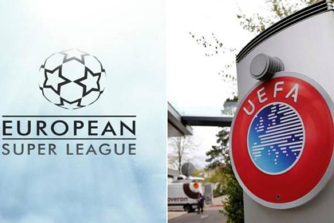 الاتحاد الأوروبي لكرة القدم ودوري السوبر الأوروبي. (sportbible)