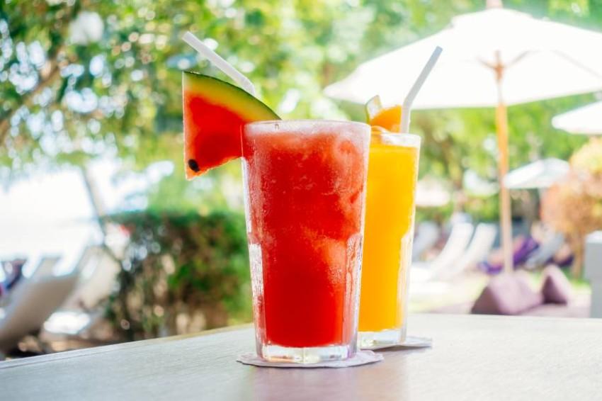 عصير البطيخ المنعش