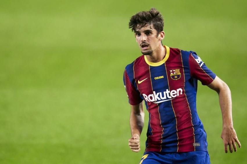 لاعب برشلونة ترينكاو. (غيتي)