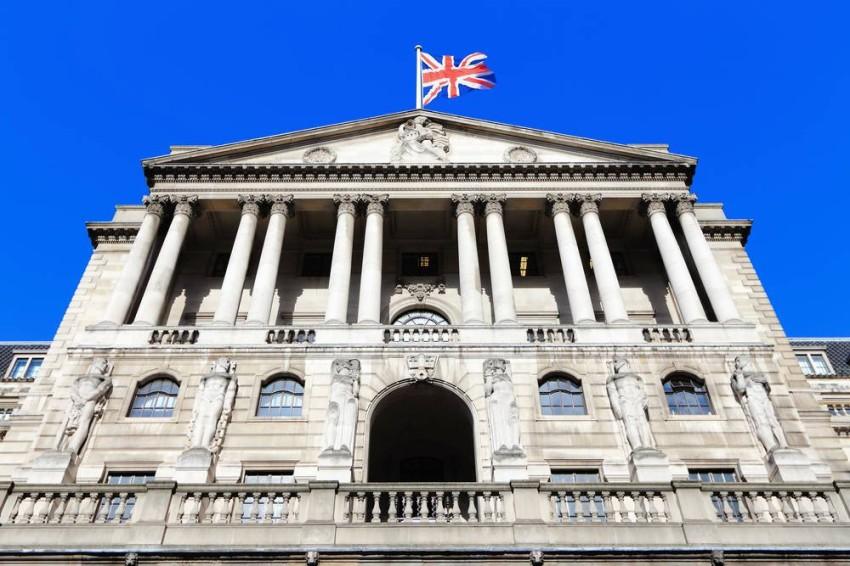 البنك المركزي البريطاني. (أرشيفية)