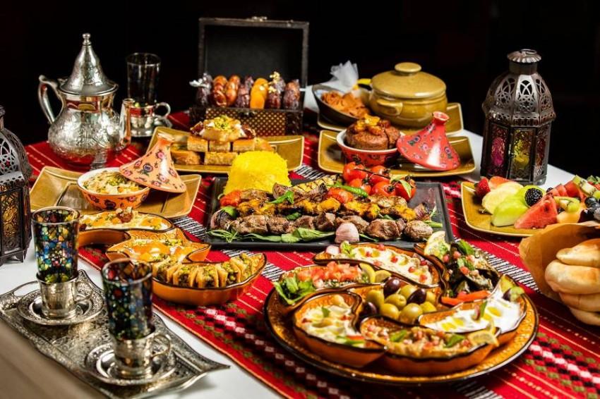 الطعام في فندق الميدان
