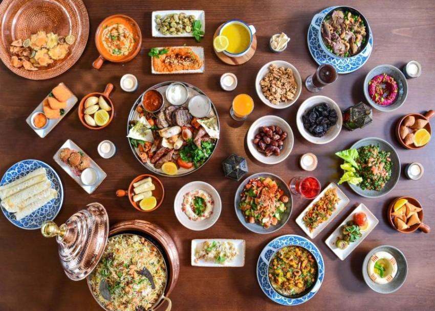 الأكلات في مطعم تيمو بفندق الجداف روتانا