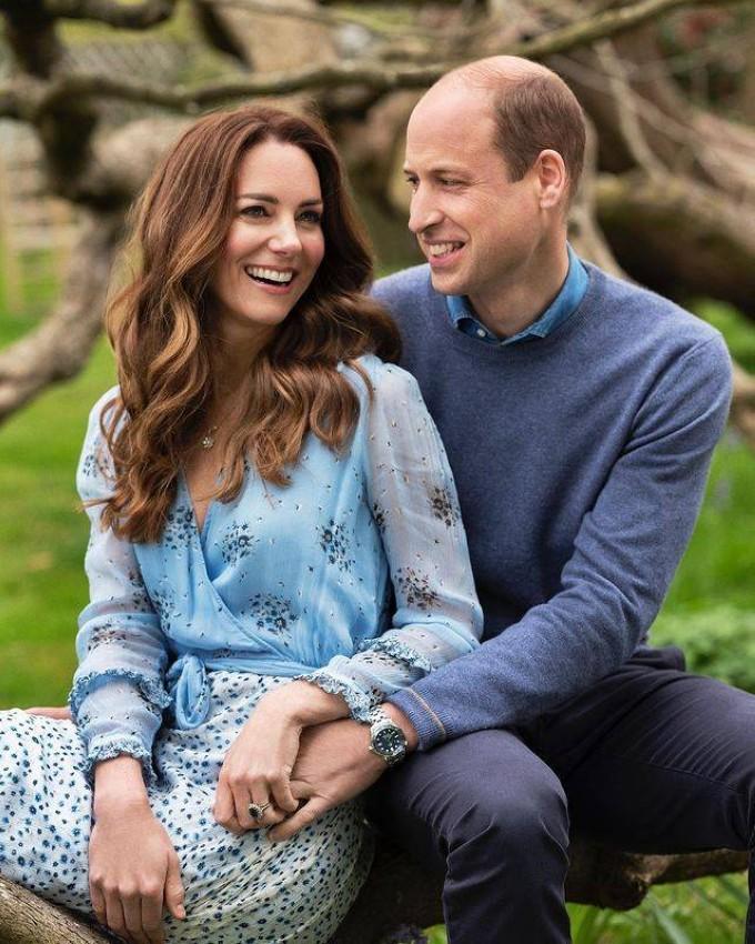 الأميرة كيت والأمير ويليام يحتفلان بالذكرى العاشرة لزواجهما