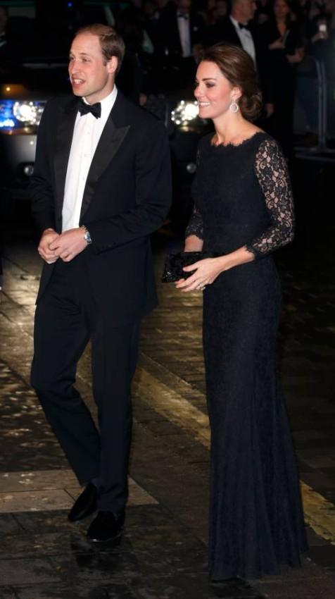 إطلالة كيت وويليام بحفل الأداء الملكي المتنوّع