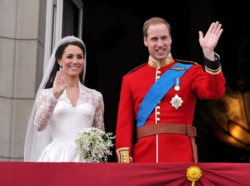 كيت وويليام بحفل الزواج