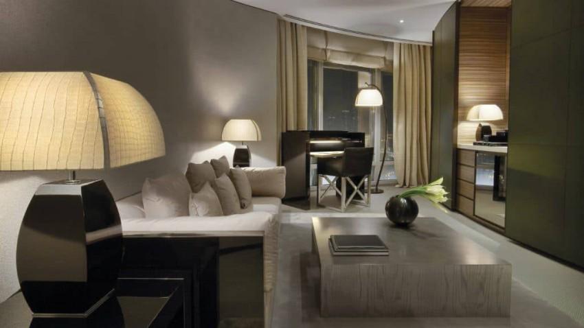 الأجنحة الفاخرة في فندق آرماني دبي