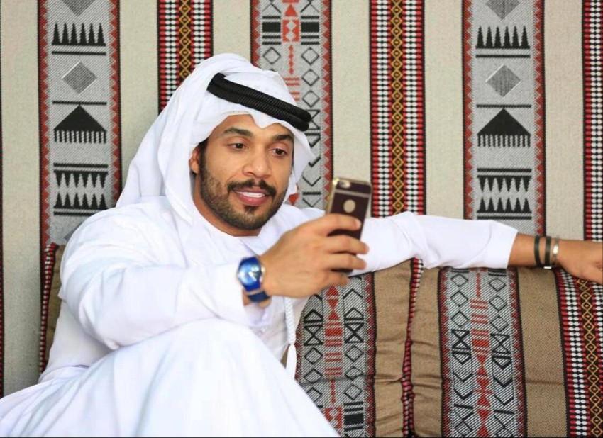بطل كمال الأجسام الإماراتي محمد الزحمي. (الرؤية)