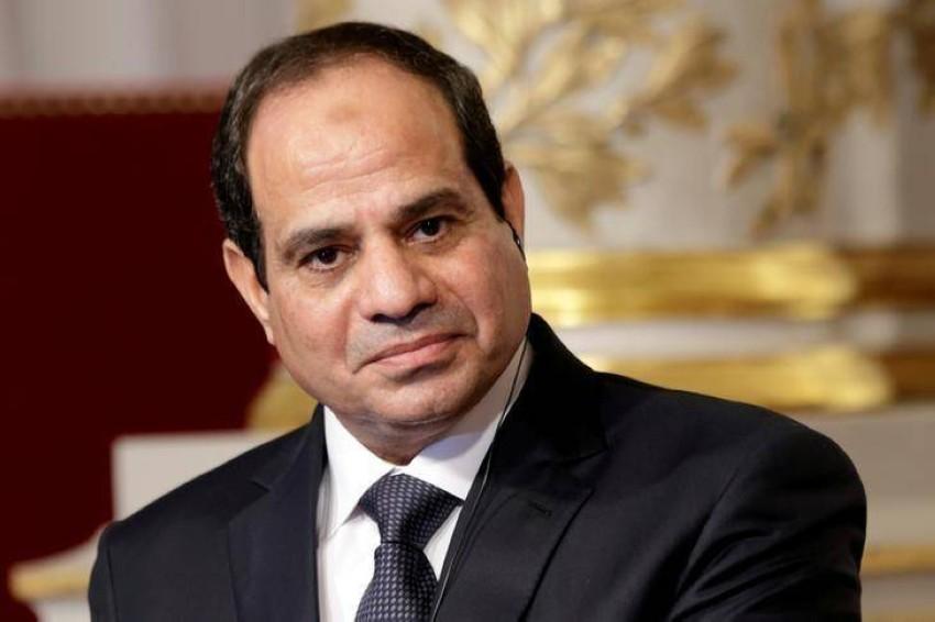 الرئيس المصري. (رويترز)