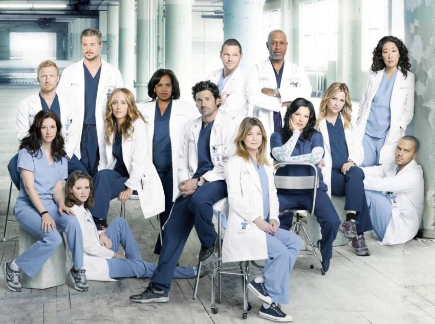 أبطال دراما Grey's Anatomy