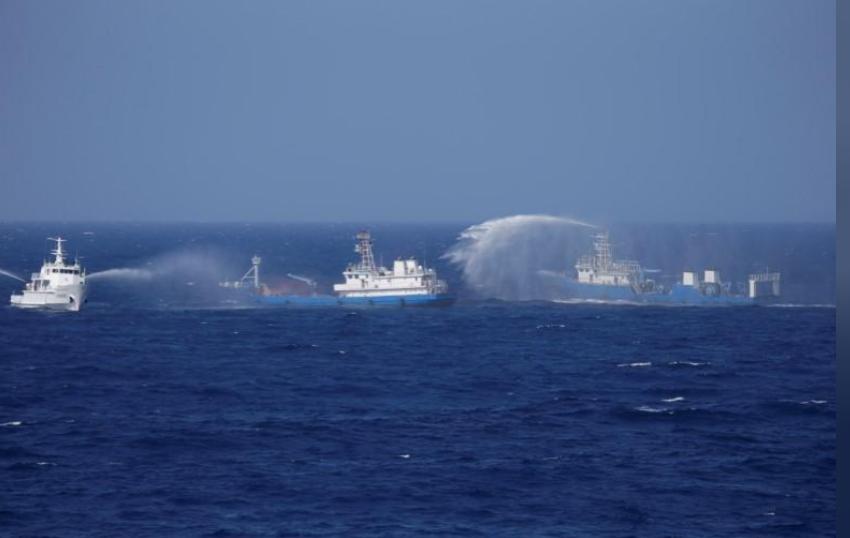 بحر الصين. (رويترز)