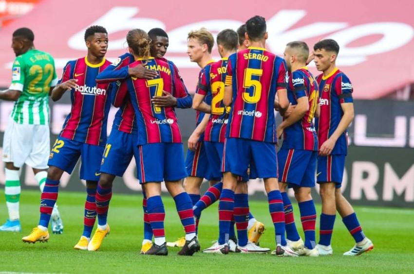 نادي برشلونة. (الموقع الرسمي لنادي برشلونة)