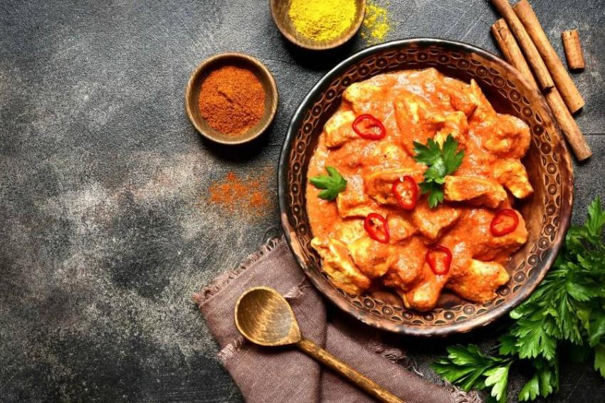 كريول الدجاج (دجاج مع الخضراوات وبابريكا)
