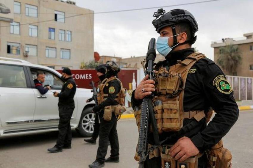 الشرطة العراقية. (رويترز)