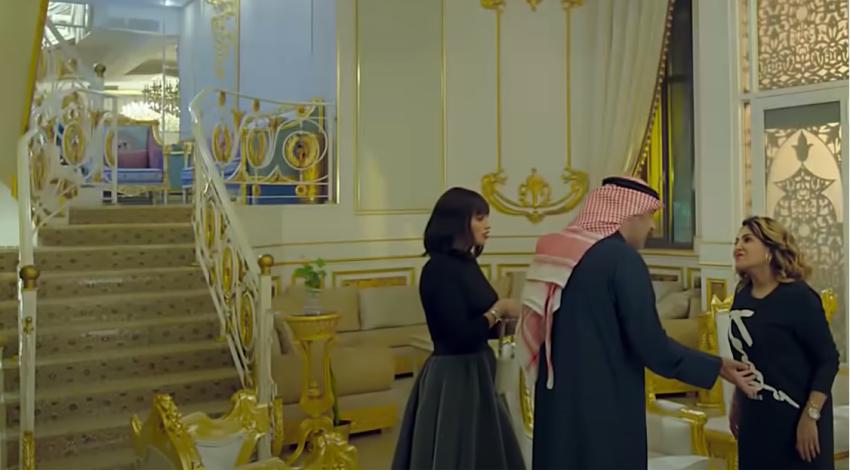 أزياء شوق الهادي من مسلسل أمينة حاف.