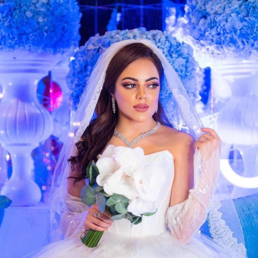 فستان زفاف صمود المؤمن من مسلسل أمينة حاف.