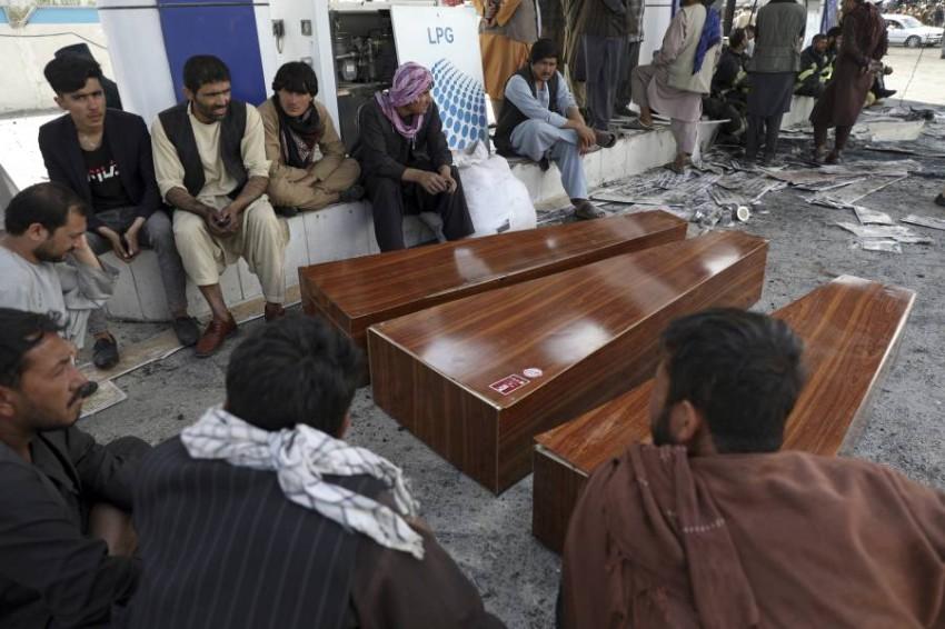 العنف في افغانستان يتواصل مع اقتراب الانسحاب الامريكي.(أ ب)