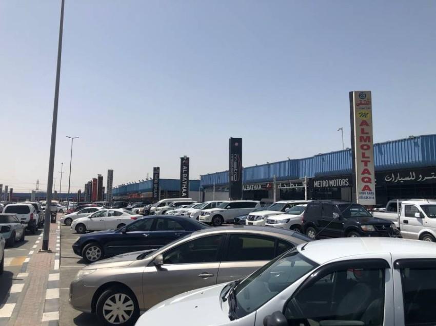 سوق العوير للسيارات المستعملة