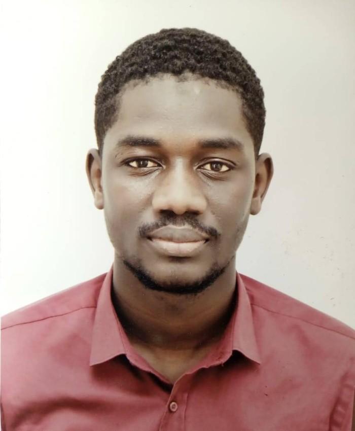 عثمان ثيام، شاب سينغالي مقيم في المغرب.
