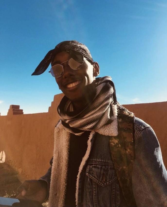سلمان الكناني، شاب إرتري مقيم في المغرب.
