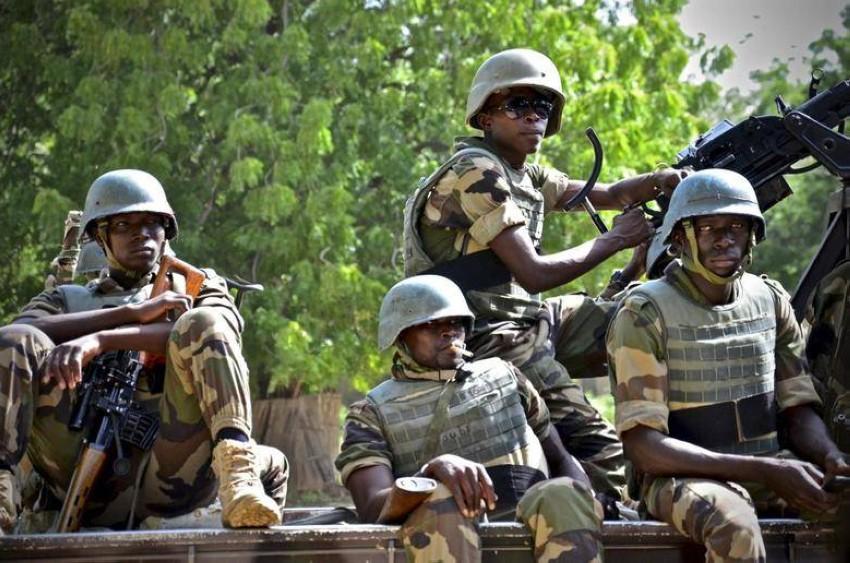 صورة أرشيفية لقوات تابعة لجيش النيجر. (رويترز)