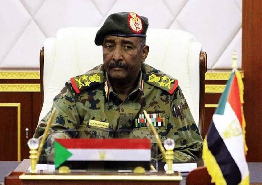 رئيس مجلس السيادة الانتقالي السوداني. (أ ب)