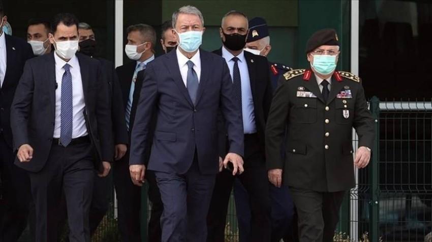 وزير الدفاع التركي أكار.(أرشيفية)