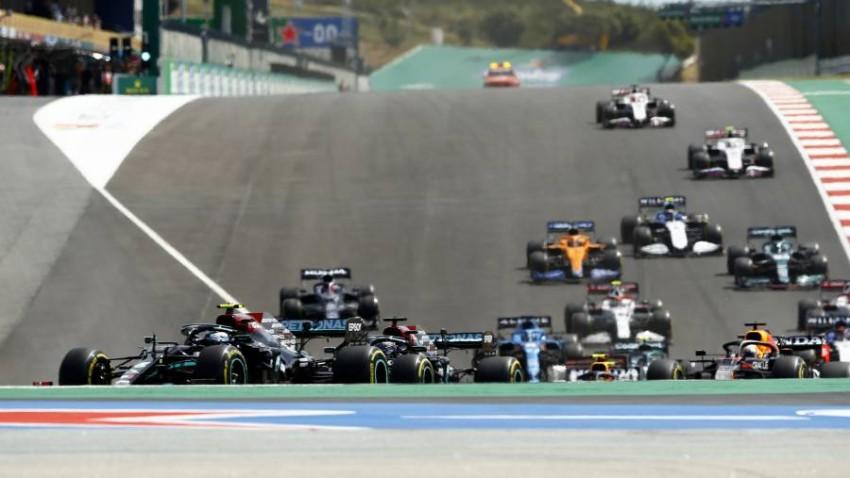 من سباق البرتغال لفورمولا 1. (رويترز)