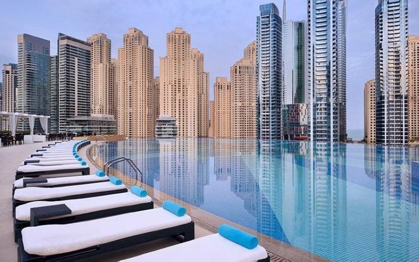 مسبح Address Dubai Marina