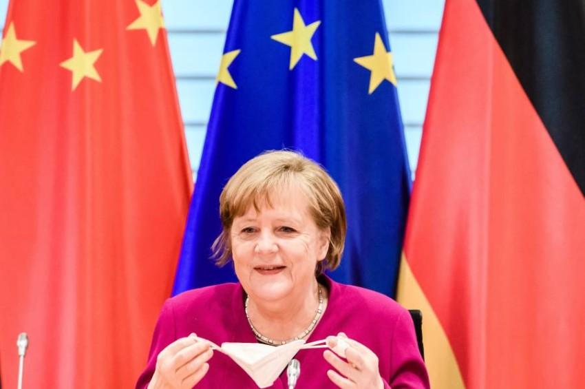 المستشارة الألمانية أنجيلا ميركل - EPA.