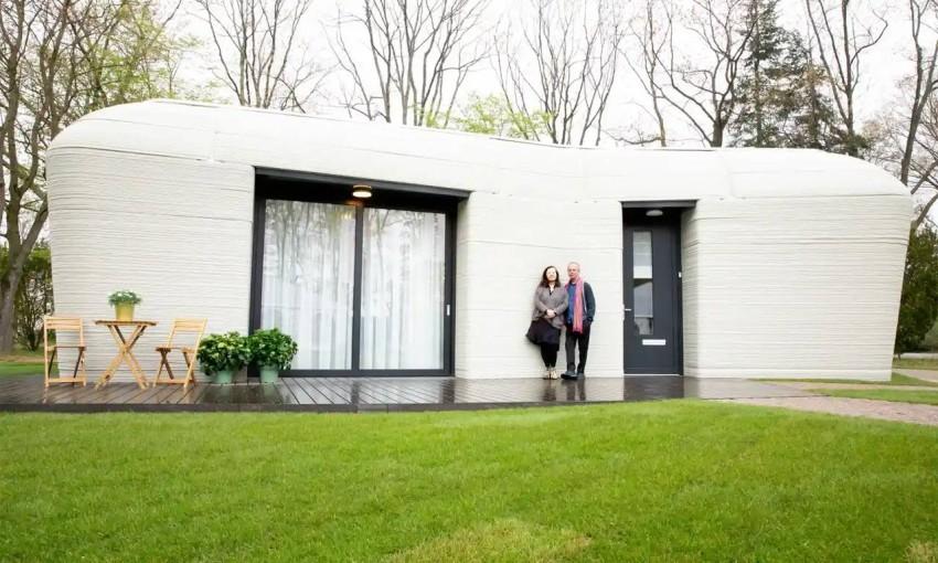 منزل ثلاثي الأبعاد في هولندا