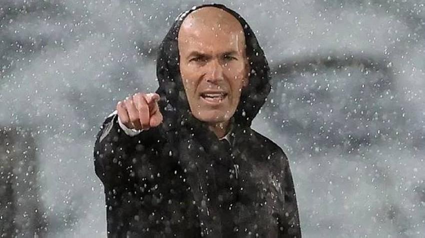 مدرب ريال مدريد زيدان. (ماركا)
