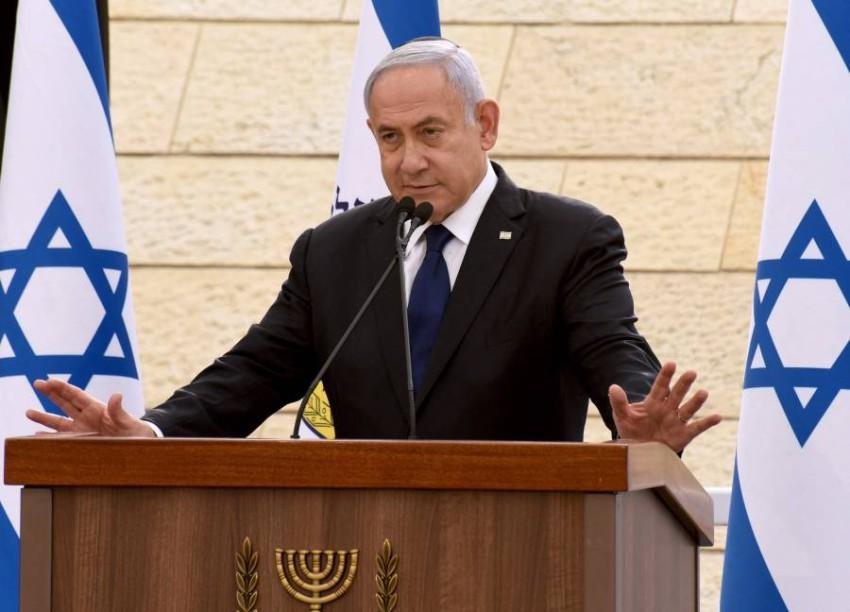 رئيس الوزراء الإسرائيلي المكلف بنيامين نتنياهو - أ ف ب.