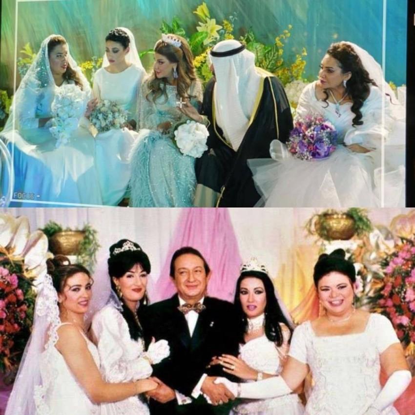 """مشهد الزفاف في """"أمينة حاف"""" مقتبس من الحاج متولي"""