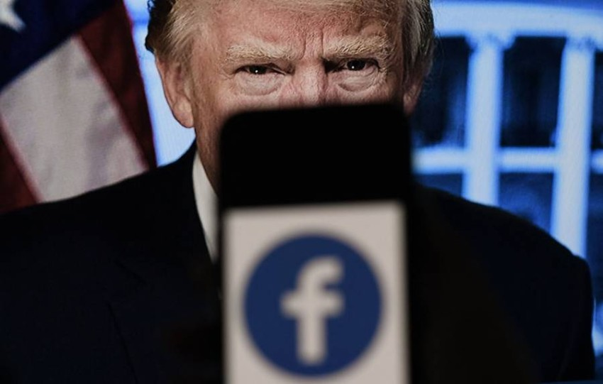 منصة فيسبوك تعد أرضية خصبة تنظيمية رئيسية للجمهوريين - أ ف ب.