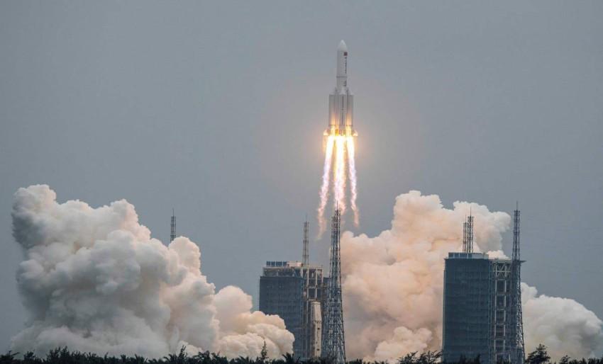 جلوبال تايمز: «من الشائع في مجال الفضاء أن يتساقط حطام على الأرض».