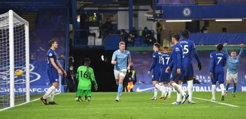 مانشستر سيتي في مواجهة تشيلسي في نهائي دوري أبطال أوروبا. (Bildbyran)