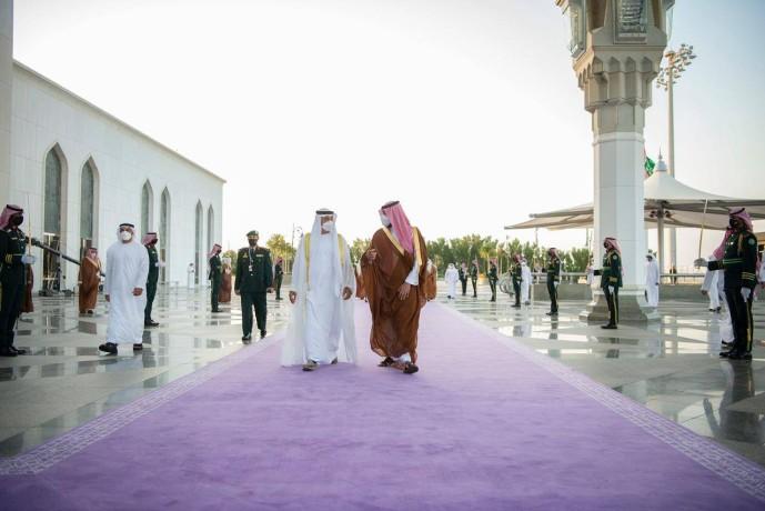تغير لون السجاد الرسمي في السعودية